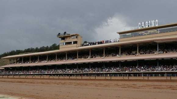 The flags are flying red, white and blue as you drive into the complex of Ruidoso Downs Race Track and Casino for the running of the richest quarter horse race in the world this weekend, the $3 million All American Futurity, on Labor Day.