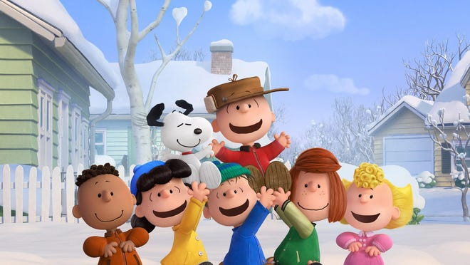 "The Peanuts gang is seen in ""The Peanuts Movie,"" now on demand."
