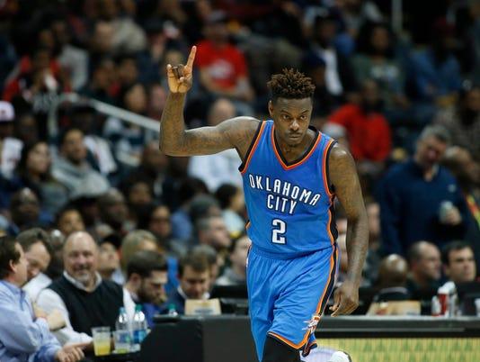 USP NBA: OKLAHOMA CITY THUNDER AT ATLANTA HAWKS S BKN USA GA