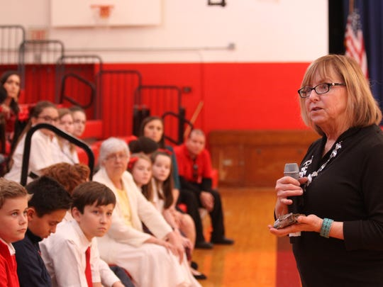 Best-selling author Terri Farley visited Incarnate Word Academy on Feb. 17.