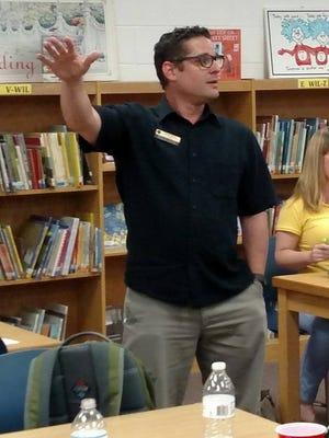 Scott Mazur, a Killearn Lakes Elementary School teacher, is the newly elected teachers union president.