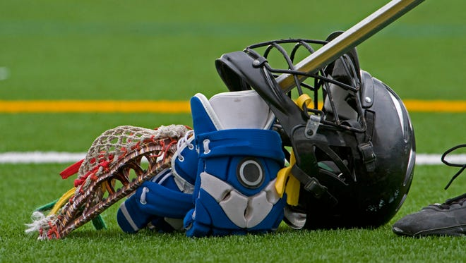 Stock photo: Lacrosse gear