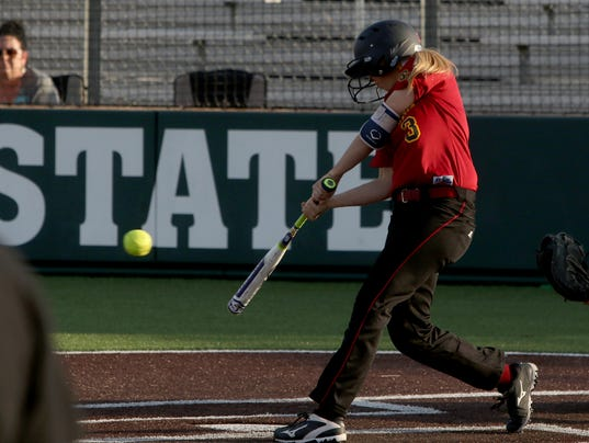 Cameron downs MSU softball