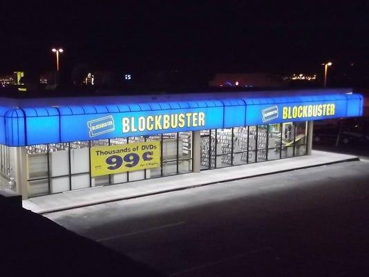 Blockbuster store- El Paso
