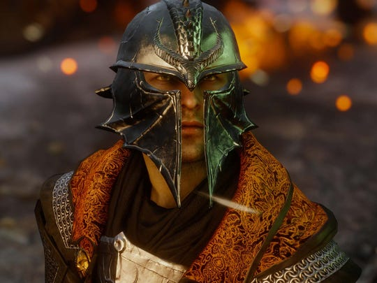 """""""Dragon Age: Inquisition"""" lets you create a custom protagonist from various races and classes."""