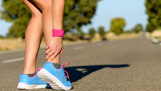 Ankle sprains are almost impossible to avoid entirely, but there are ways to reduce the risk, particularly if you understand how the ankle is put together. (Dreamstime/TNS)