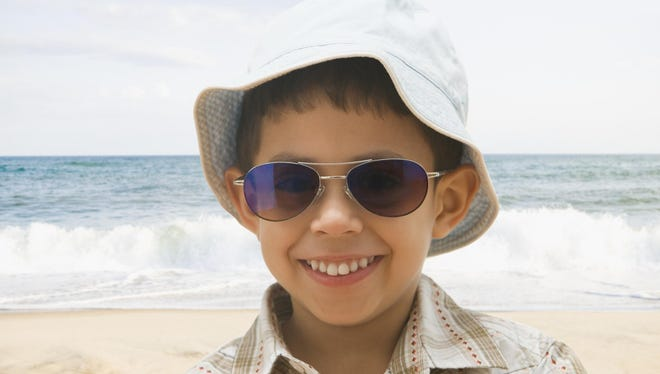 It is essential to apply UV-blocking sunscreen around the eye area (not too close, though, as it can sting) and wear a hat to keep direct sunlight off of the face and eyes.