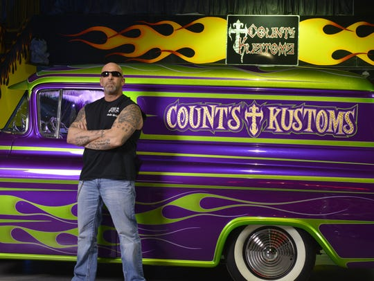 """Kevin Mack from the hit TV show """"Counting Cars"""" will"""