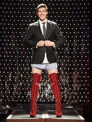 """Curt Hansen in the national tour of """"Kinky Boots."""""""