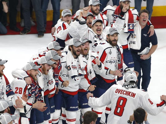 Stanley Cup Capitals Golden Knights Hockey