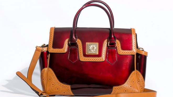 The purse, part of the Abigail Riggs Collection, is named after the founder of Volunteers of America and proceeds are going to help the nonprofit.