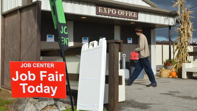 Thursday's job fair at the Manitowoc County Expo was organized in the wake of the Manitowoc Company's decisions to close its local produciton plant.