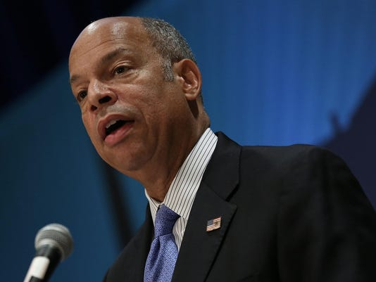 Jeh Johnson Discusses Homeland Security Dept's Cybersecurity Efforts