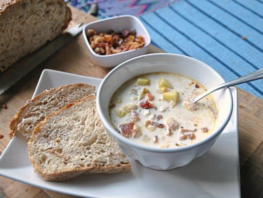 Let's eat: Summer's End Corn Chowder