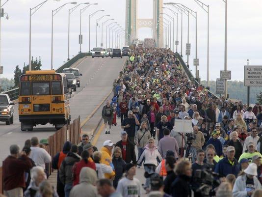Labor Day Bridge Walk