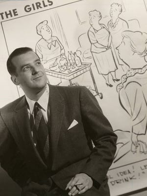 """Franklin Folger created the cartoon """"The Girls"""" in The Enquirer in 1952 before it was syndicated."""