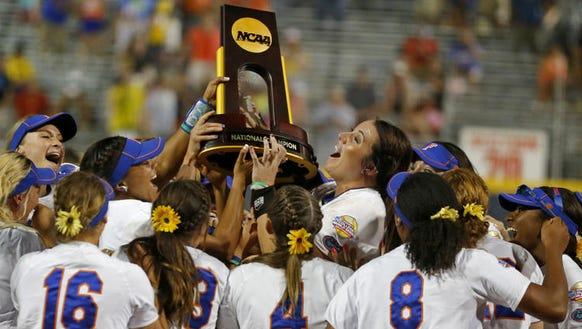 The Florida Gators won back-to-back NCAA softball national