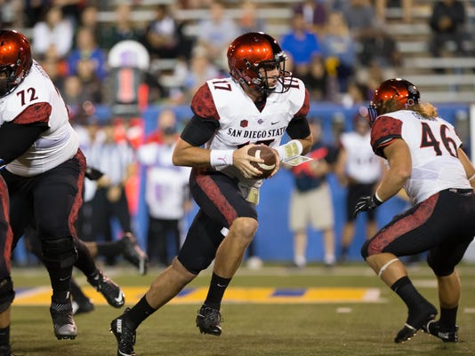 NCAA Football: San Diego State at San Jose State