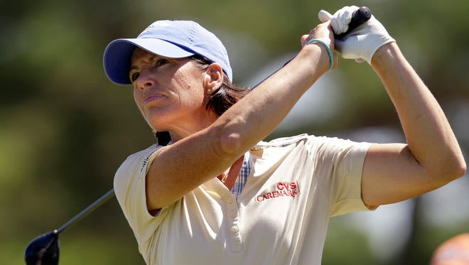Juli Inkster, shown during the Shoprite LPGA Classic in 2010, has been named captain of the U.S. women's Solheim Cup team.