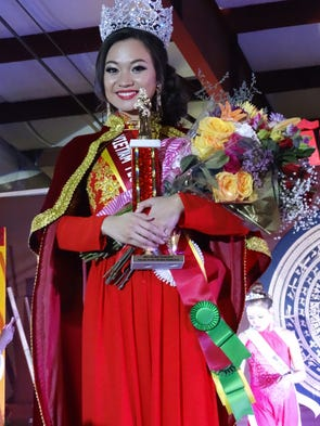 For newly crowned Miss Vietnam Florida Nhatvy Vo, this