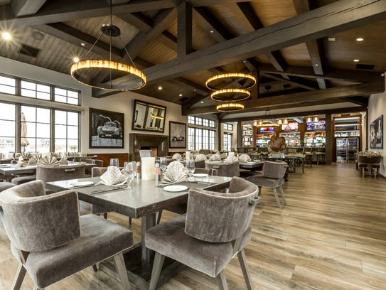 Members of Thermal Club can dine in the track's in-house
