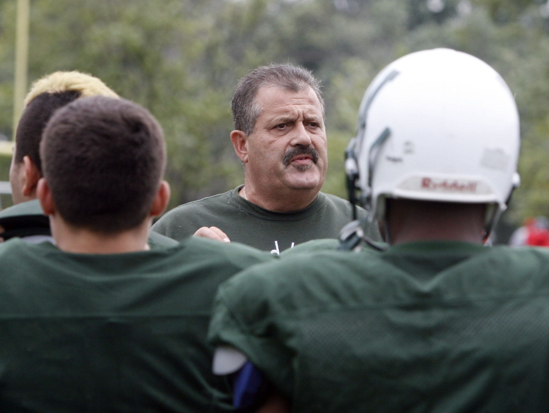 Woodlands football coach Mike Meade, pictured here in 2011, was named the Varsity Insider Week 2 Coach of the Week after his team beat Dobbs Ferry 33-0 in a rematch of the 2015 Class C championship game, which was won 35-0 by Dobbs Ferry.