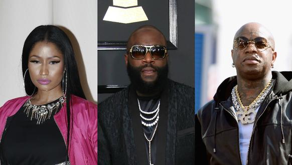 Nicki Minaj; Rick Ross; Birdman