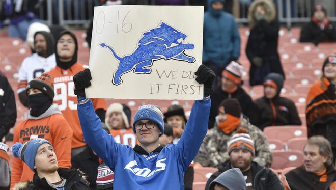Been there, done that. The Cleveland Browns are flirting with matching the worst season in Detroit Lions history.