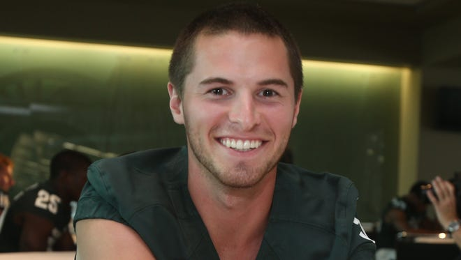 Former Michigan State punter Mike Sadler died in a car accident, along with Nebraska punter Sam Foltz, in a car accident on July 23 in Wisconsin. He was 24.