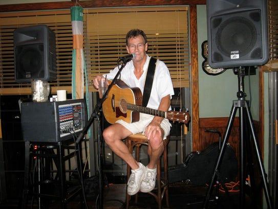 John Lowbridge appears at Little Bar in Goodland.