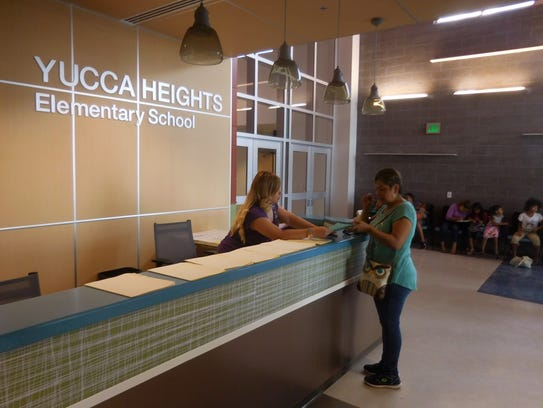 Yucca Heights Elementary in Chapparal