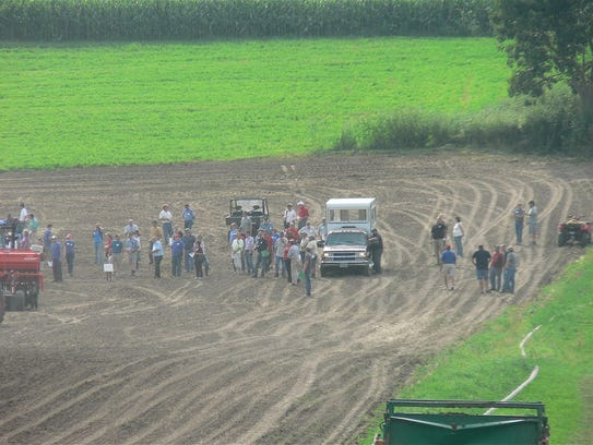 The Ag Innovation day offered farm tours for farm and