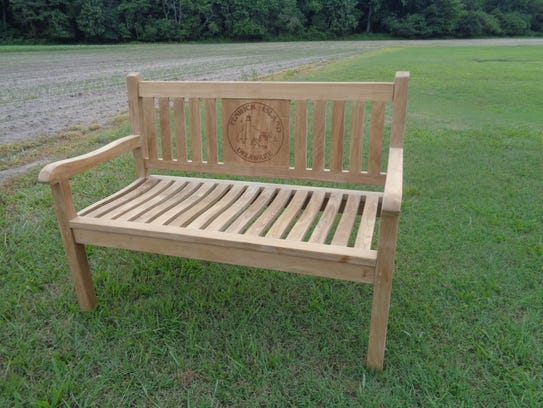 One of the benches Windsor Teak Furniture is selling