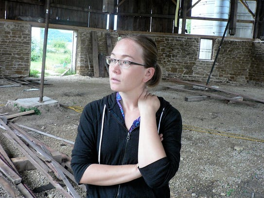 Cari Stebbins does a lot of thinking as her vision