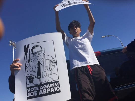 Hundreds of Maryvale High School students walked out