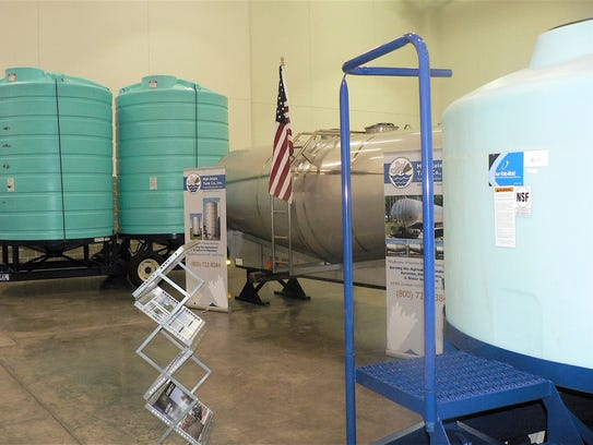 Special tanks are needed for ag chemicals.