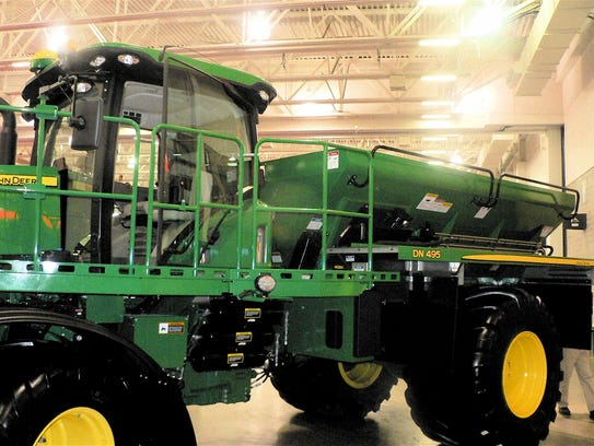 This big, expensive, high-capacity nutrient applicator