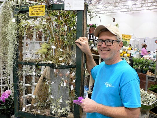 Rick Halbach of Kleins Floral and Greenhouse, Madison,