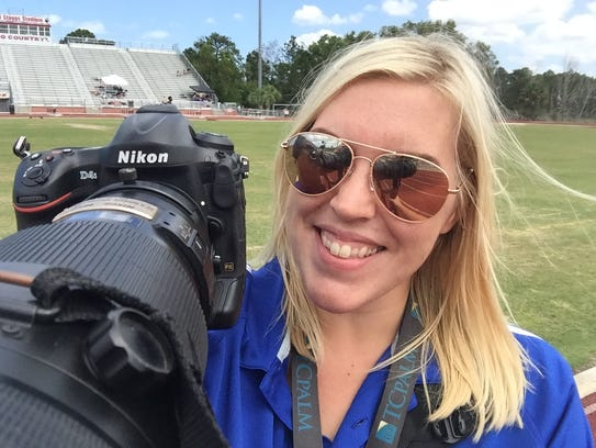 Photojournalist Leah Voss.