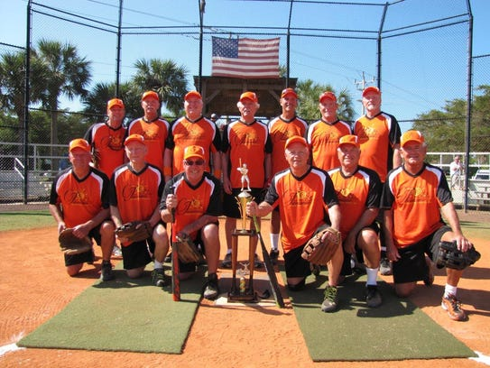 CJ's on the Bay Marco Division championship team, from