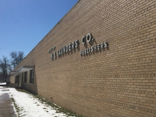 The former W.B. Saunders Co. plant in Cherry Hill would