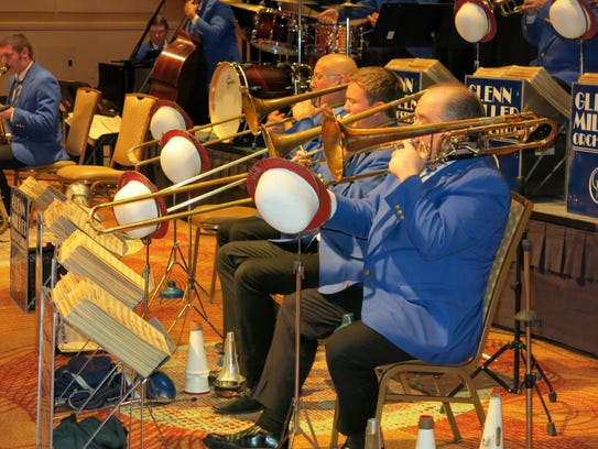 The Glenn Miller Orchestra will bring its big band sound to the National Naval Aviation Museum on Friday.