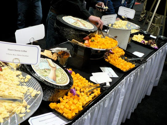 There was plenty of cheese available at the PDPW conference.