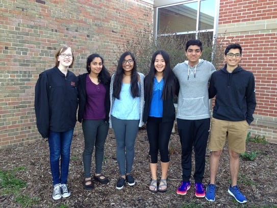 Brookfield Central Forensics team members (from left)