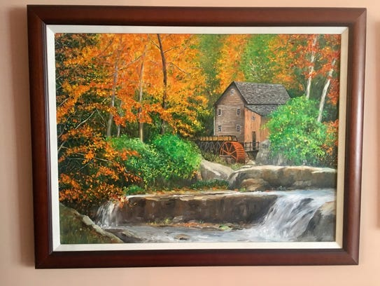 """Watermill In Autumn"""