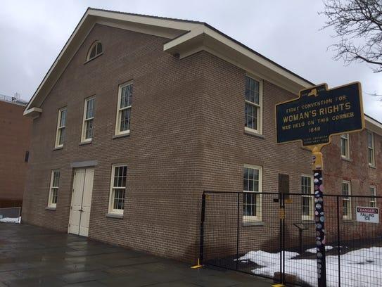 The Wesleyan Methodist Chapel was taken over by the