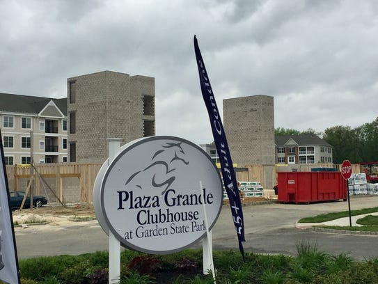 New condominiums are in the works at Plaza Grande,