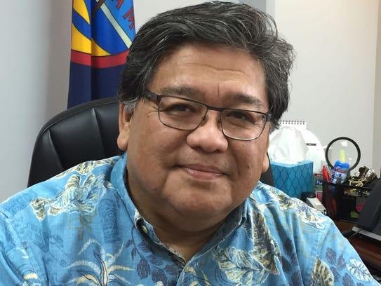 Department of Land Management Director Michael Borja