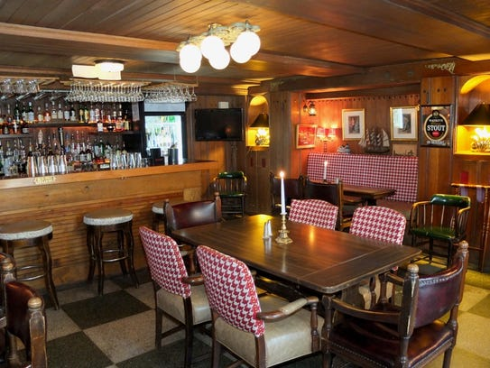 Owner Erik Nelson describes The English Inn's pub as