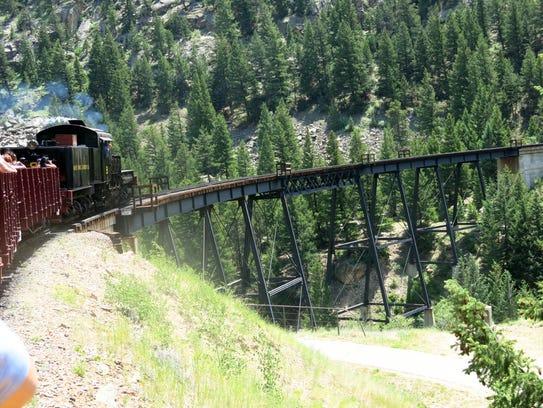 The Georgetown Loop Historic Mining & Railroad Park
